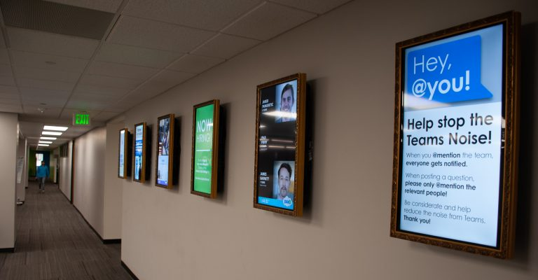 Enterprise digital signage