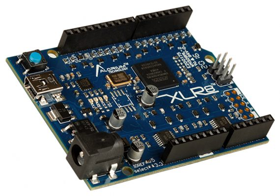 The XLR8 development board