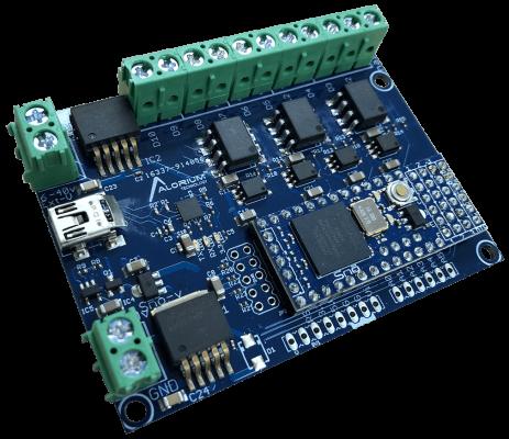 AT10 載板是適用於 Alorium Snō 模組的雜訊免疫載板