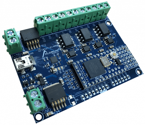 The AT10 carrier board is a noise-immune carrier board for the Alorium Snō module