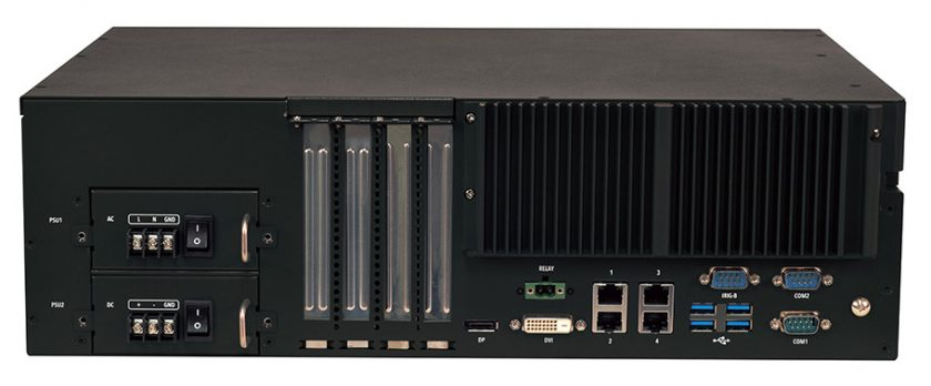 Lanner LEC-3340 架装控制器系统。