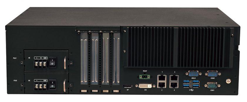 Lanner LEC-3340 機架式控制器系統。