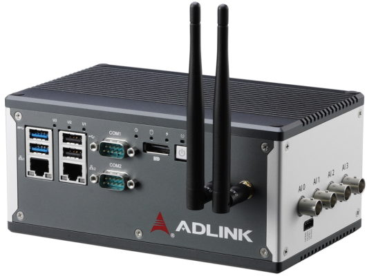 MCM-100 machine condition monitoring edge platform. (Source: ADLINK Technology, Inc.)