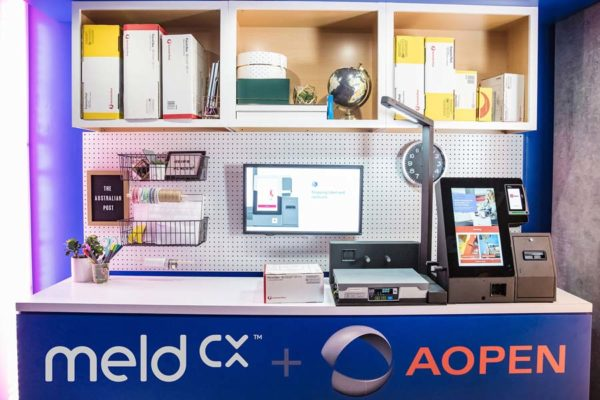 The meldCX solution simplifies self-service postal services and provides retail analytics