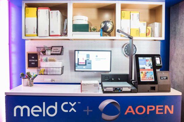 meldCX 解決方案能簡化自助郵政服務,並提供零售分析。