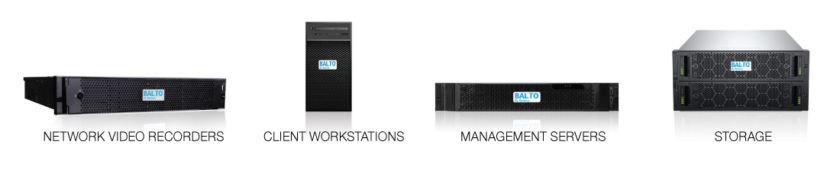 Balto by Seneca NVR 安全系统的硬件组件。(资料来源:艾睿)