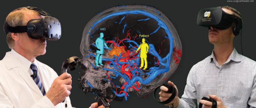 VR 讓醫療保健更上層樓。(資料來源:Surgical Theater)