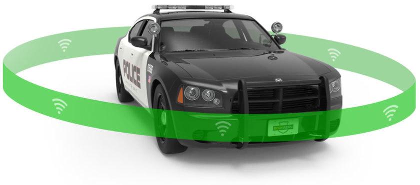 穿戴式摄像机和车载摄像机,再加上支持 4G LTE 的平台,可以拍摄视频并提高态势感知能力