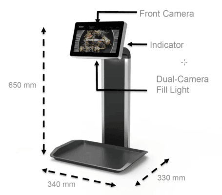 The ultra-slim panel PC provides capacitive touch sensing and multiple cameras. (Source: Flytech)