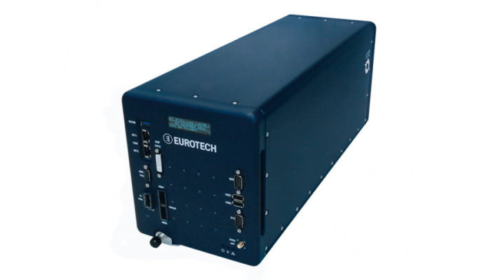 Figure 1. The liquid-cooled DynaCOR 40-35 data logger is designed for rugged edge applications. (Source: Eurotech)