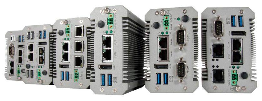 Portwell 网关产品展示了可用的 I/O 端口范围