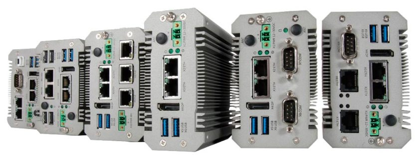 Portwell gateway products show the range of I/O ports available